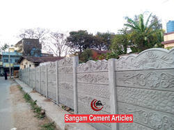 RCC Prestressed Boundary Wall