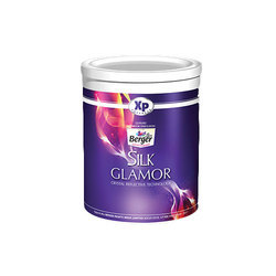 60-85 Degree C Berger Silk Glamor Paint, 1 Litre, Packaging Type: Bucket