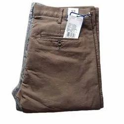 Mens Brown Formal Trouser