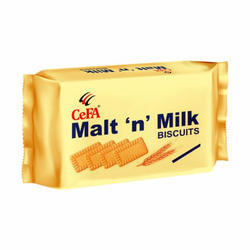 Cefa Malt N Milk Biscuits