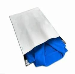 Plastic White Plain Security Envelopes, For Courier, Thickness: 55-60 Microns