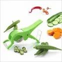 Plastic And Metal 2 In 1 Multi Vegetable Cutter