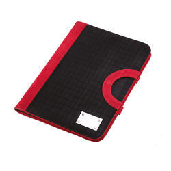 Leatherette Handle Folding Folder