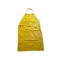 Yellow PVC Apron, For Safety & Protection