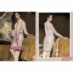 Cotton Semi-Stitched Designer Pakistani Lawn Suit
