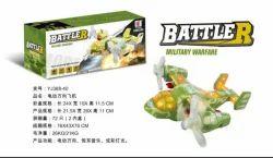Mix Colour Battler Plane Toy, 3-6 Yrs
