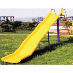 Double Wave Playground Slide
