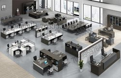 Office Interior Designing with Furniture