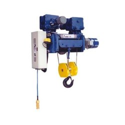 Industrial With Trolley Indef Rope Hoist