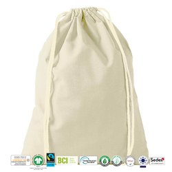 Grs Recycle Cotton Drawstring Bag