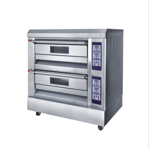 Double Deck SS Electric Pizza Oven