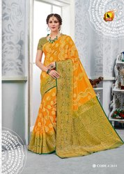 Ashika Sarees Sarvottam 2601-2618 Series Tussar Silk Saree