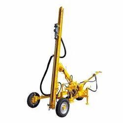 Hydraulic Wagon Drill Rig For Basalt Rock Drilling