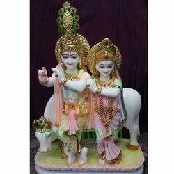 Marble Makrana Krishna Statue