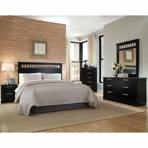 Wooden Bedroom Furniture Set at Rs 50000 /set | Bedroom Furniture ...