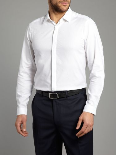 c8d5f6762a7 White Formal Shirts - View Specifications   Details of Men White ...