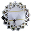 Wall Mounted Designer Round Glass Mirror
