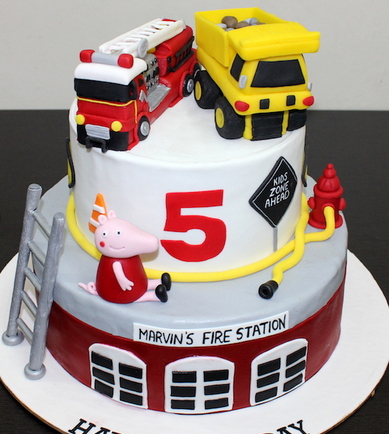 Car Bus JCB Truck Plane shaped Cake Disney Pixar Cars