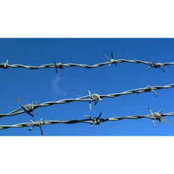 Iron Silver Barbed Wires