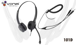 Vonia DH-101D 2x3.5 mm Headset