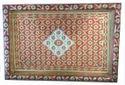 Multicolor Meenakari Wooden Serving Tray With Colorful Meenakari Work
