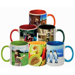 Classic Printed Mug Printing Service, For Promotion or Gift