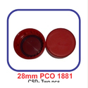 Plastic Red Mineral Water Screw Caps