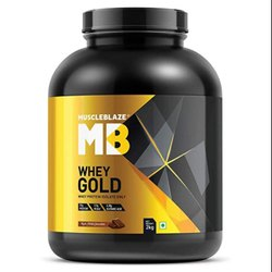 MB 2kg Muscleblaze Whey Protein Gold, 2 Kg