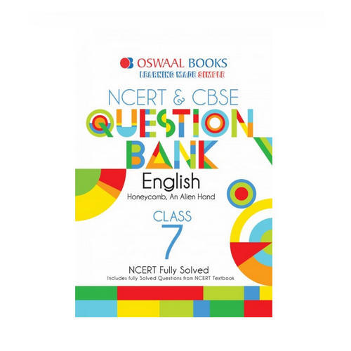 Oswaal Ncert Amp Cbse Question Banks Class 7 English Book
