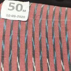 Cotton Designer Ikat Kurti Fabric, GSM: 100-150 GSM