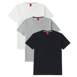 Men's Cotton Half Sleeve T Shirts, Size: M-L