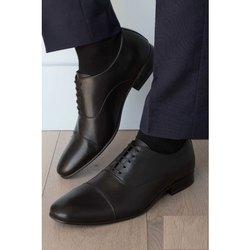 Formal Wear Arrow Mens Black Leather Shoes, Size: 7 - 11