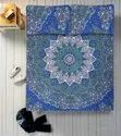 Star Mandala Printed Cotton Bed Sheet