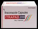 Itraconazole 100/ 200 mg Veg.Capsule(Itrapad 100/ 200)