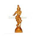 Brass Krishna with Flute