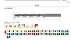 Dormer R1005.5 Jobber Drill Bright Coating 5mm Head Diameter 57 mm Flute Length Carbide