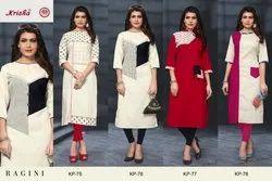 Latest Designer Khadi Cotton Kurti