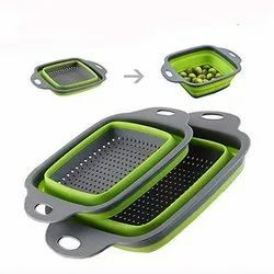 Silicone Collapsible Filter Basket for Home Uses