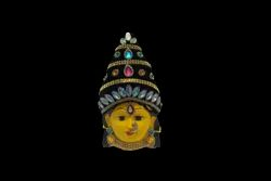 Devi Amman Decorated Face 7 inches