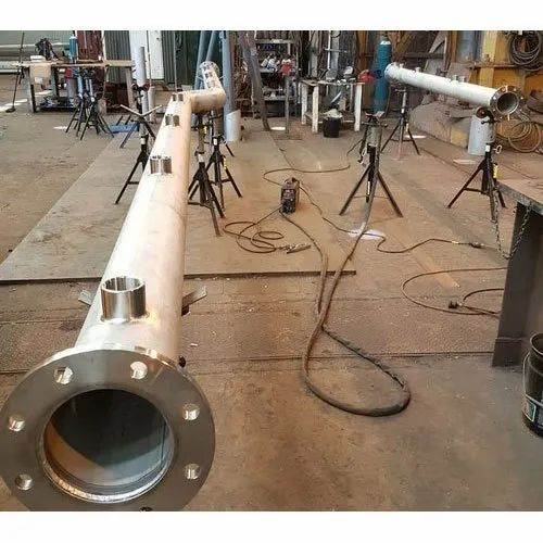6m Industrial Conveyor Flange Pipe