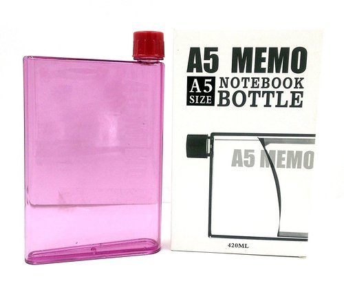 HIYA A5 Size Memo Bottle Notebook, Capacity: 420ML