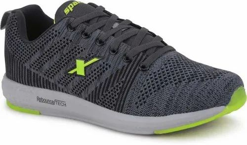 Sneaker Black Sparx Shoes, Size: 7, Rs