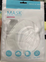 Printed mask pouch