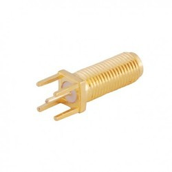 SMA Connector Female Straight B/h Pcb Mount 16mm