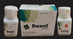 Bwanil Ayurvedic Capsules for Piles and Constipation, Prescription, Packaging Type: Bottle