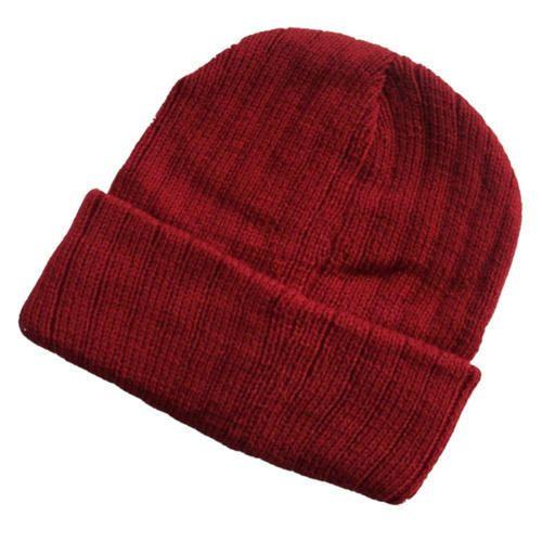 Maroon Winter Cuff Cap 6e23d55a7db