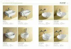 Ceramic Wall Hung Wash Basin