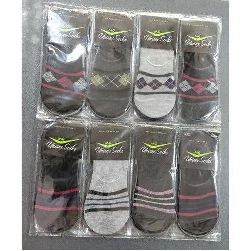 Printed MG Cotton Loafer Socks