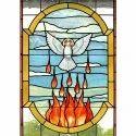 Printed Church Designer Glass For Office