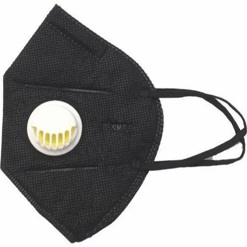 Woven Black Respirator Cotton For Pharma Mask Non Respiratory N95